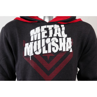 Hoodie men's - White Shadow - METAL MULISHA - CHARCOAL