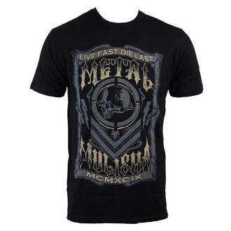 t-shirt street men's - Die Last - METAL MULISHA - BLK
