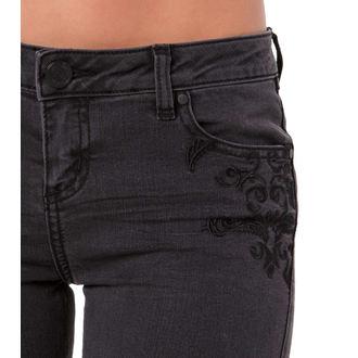 pants women METAL MULISHA - Wicked Stitch - BLK