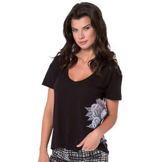 t-shirt street women's - Sparrow - METAL MULISHA - BLK