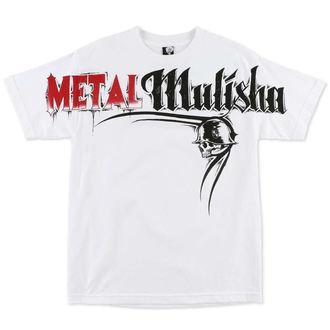 t-shirt street men's - Locked - METAL MULISHA - WHT