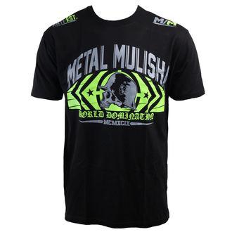 t-shirt street men's - Headrush - METAL MULISHA - BLK