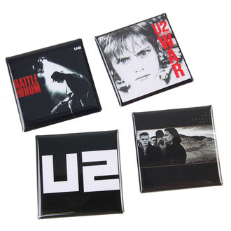 badges U2, C&D VISIONARY, U2