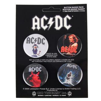 badges AC / DC - Logo, C&D VISIONARY, AC-DC