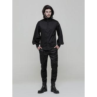 Men's shirt PUNK RAVE - Viserion - OY-868 BK