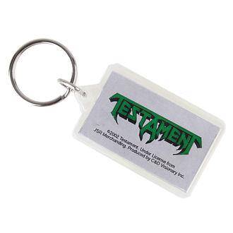 key ring (pendant) Testament - Logo, C&D VISIONARY, Testament