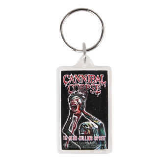 key ring (pendant) Cannibal Corpse - Spree, C&D VISIONARY, Cannibal Corpse
