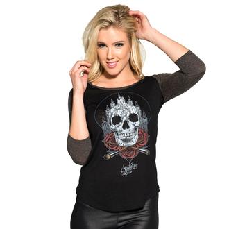 t-shirt hardcore women's - Altar Raglan - SULLEN - BLK