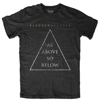t-shirt men's - As Above So Below - BLACK CRAFT - MT109AW