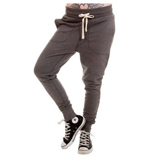 pants unisex (sweatpants) 3RDAND56th - Carrot Fit Jogger - Anthrax, 3RDAND56th