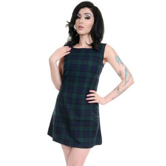 dress women 3RDAND56th - 60s Retro - Navy / Green - JM1284