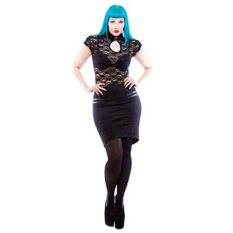 skirt women's NECESSARY EVIL - Gothic Corra - Black, NECESSARY EVIL