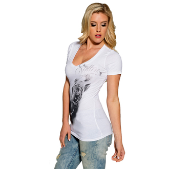 t-shirt hardcore women's - Transitory - SULLEN - WHT