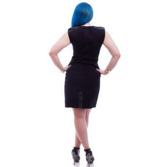 dress women NECESSARY EVIL - Gothic Luna - Black - N1207