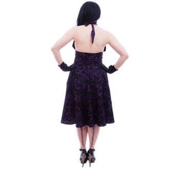 dress women NECESSARY EVIL - Feronia 50s - Black, NECESSARY EVIL