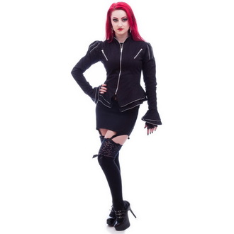 jacket women's (jacket) NECESSARY EVIL - Zaria - Black, NECESSARY EVIL