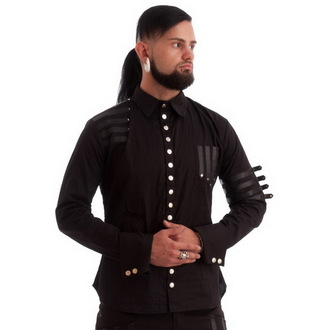 shirt men NECESSARY EVIL - Mephisto - Black, NECESSARY EVIL