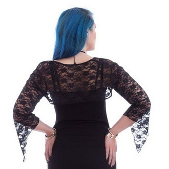 bolero NECESSARY EVIL - Gothic Cleon - Black, NECESSARY EVIL