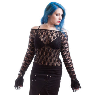 t-shirt gothic and punk women's - Ziva - NECESSARY EVIL, NECESSARY EVIL