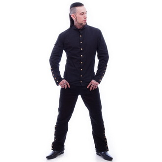 shirt men NECESSARY EVIL - Chronus - Black - N1092