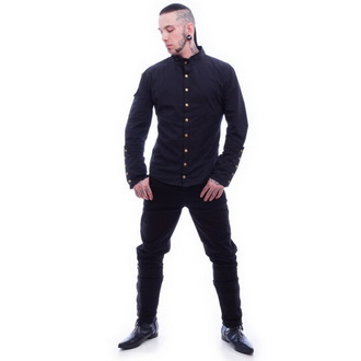 shirt men NECESSARY EVIL - Chronus - Black, NECESSARY EVIL