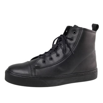 leather boots men's - ALTERCORE - Black