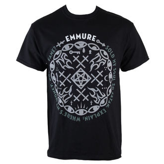 t-shirt metal men's Emmure - Money Power Fame - VICTORY RECORDS, VICTORY RECORDS, Emmure