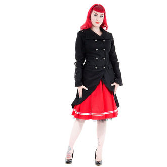 coat women's spring/autumn HEARTS AND ROSES - Black Sassiness, HEARTS AND ROSES