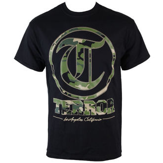 t-shirt metal men's Terror - Camo Black - VICTORY RECORDS, VICTORY RECORDS, Terror