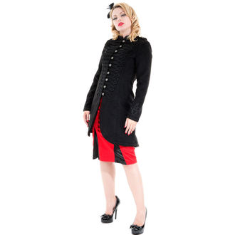 coat women's spring/autumn HEARTS AND ROSES - Military Cyber Rave Wool, HEARTS AND ROSES