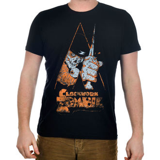 t-shirt gothic and punk men's - Clockwork Zombie - TOO FAST - Clockwork Zombie