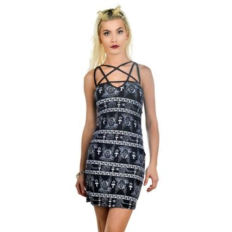 dress women TOO FAST - Pentagram - Bastet