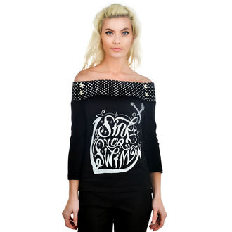 t-shirt gothic and punk women's - Cloud 9 Sailor - TOO FAST - SOS
