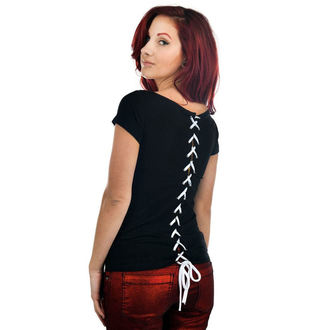 t-shirt gothic and punk women's - Lola - TOO FAST - Twisted Sisters