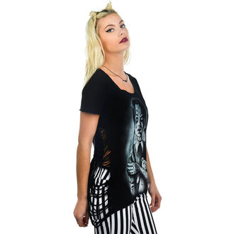 t-shirt gothic and punk women's - Outlaw - TOO FAST - Occult Wednesday