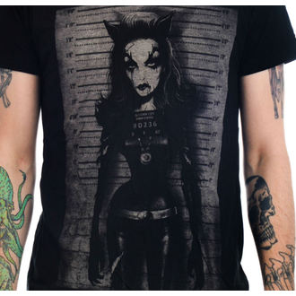 t-shirt gothic and punk men's - Catty - TOO FAST