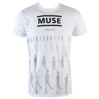t-shirt metal men's Muse - Drones - LIVE NATION, LIVE NATION, Muse
