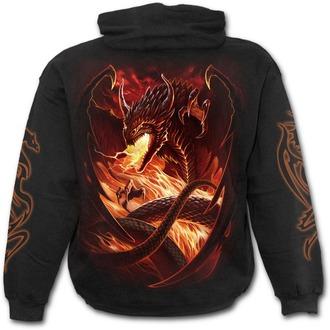hoodie men's - Dragon´s Wrath - SPIRAL - L026M451