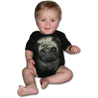 body children's SPIRAL - Pug Life - Black, SPIRAL