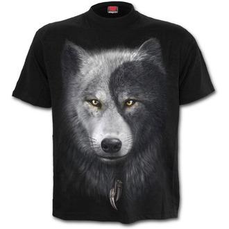 t-shirt men's - Wolf Chi - SPIRAL - T118M101