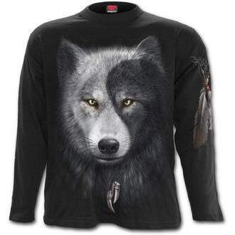 t-shirt men's - Wolf Chi - SPIRAL - T118M301