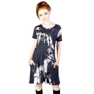 dress heels DISTURBIA - Ink - Black / White - DIS780