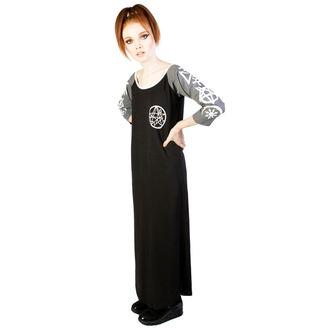 dress heels DISTURBIA - Necronomicon - Black/Grey - DIS782