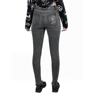 pants women Disturbia - Hater - Black, DISTURBIA