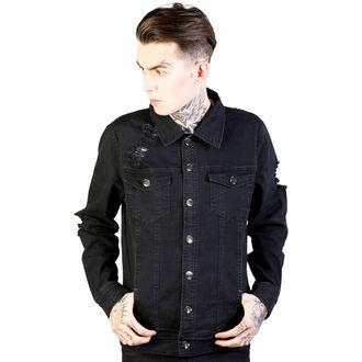 spring/fall jacket men's - Noir - DISTURBIA - DIS741