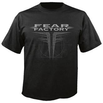t-shirt metal men's Fear Factory - GNXS - NUCLEAR BLAST, NUCLEAR BLAST, Fear Factory