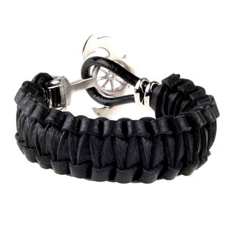 bracelet ETNOX - Anchor With Leather - SA514-22
