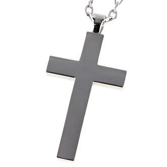 necklace ETNOX - Big Plain Cross - SK4001B