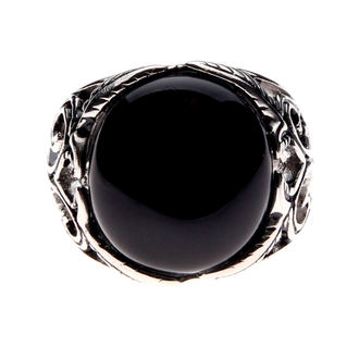 ring ETNOX - Big Black Ornament, ETNOX
