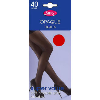 tights LEGWEAR - 40 denier opaque - Red - SHOP4BRED